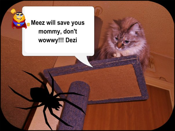 Meez saved yous mommy!!