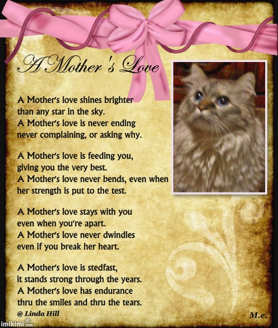 Meez luv yous mommy.