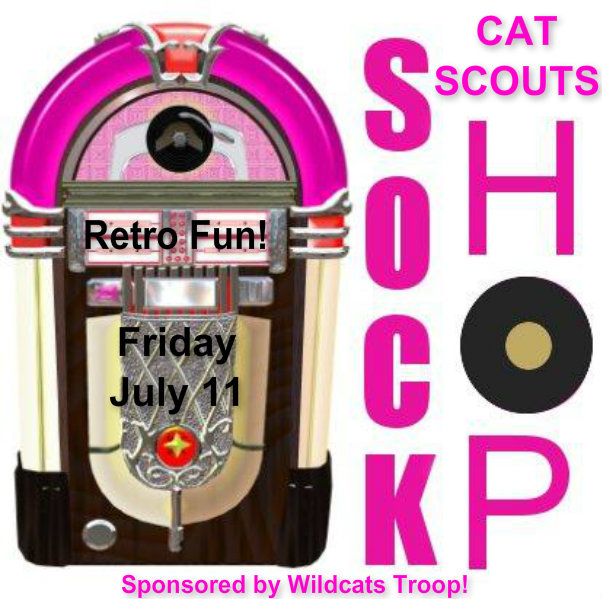 cat scouts sock hop