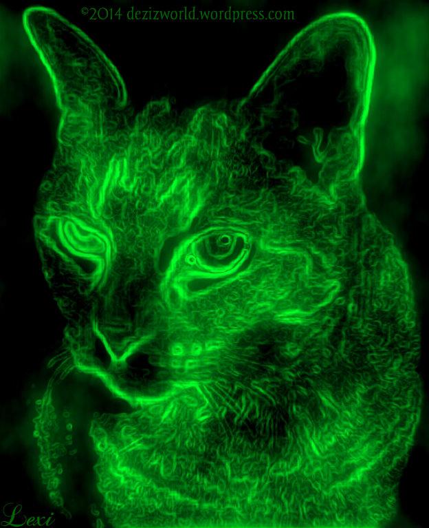 0dw Lexi Neon glow