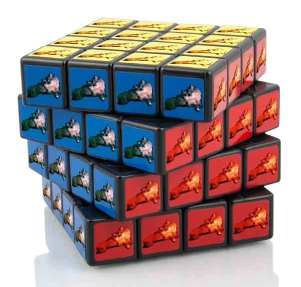 Dezi Rubiks Cube sleeping