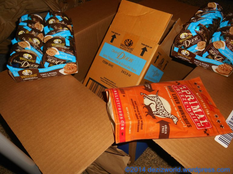 0dw Chewy review box 1 12-2014