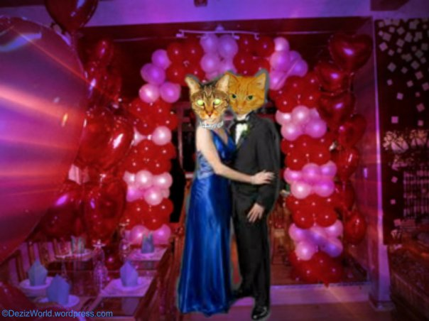 Sis Lexi and hers date Obi in da deejay tent memowy foto.