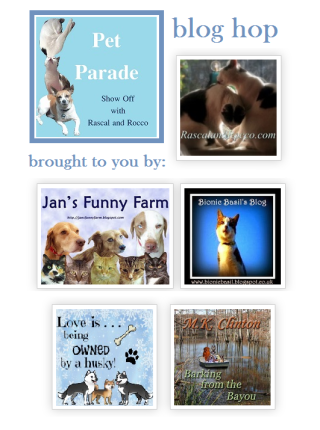 Pet Parade Blog Hop Badge