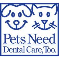 pets need dental care too badge