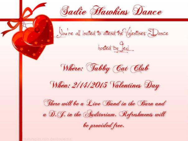 Sadie Hawkins Dance Announcement2