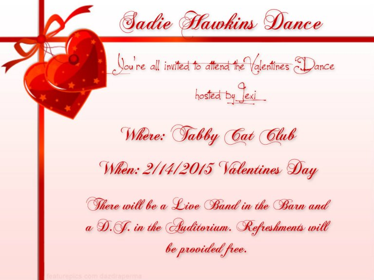 Sadie Hawkins Dance Announcement2