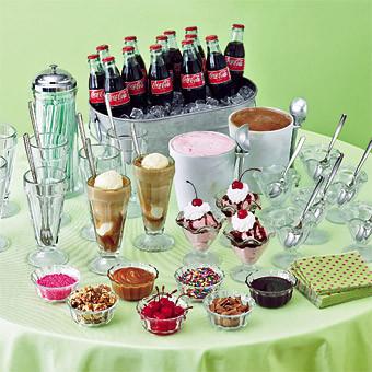 coke floats or drinks