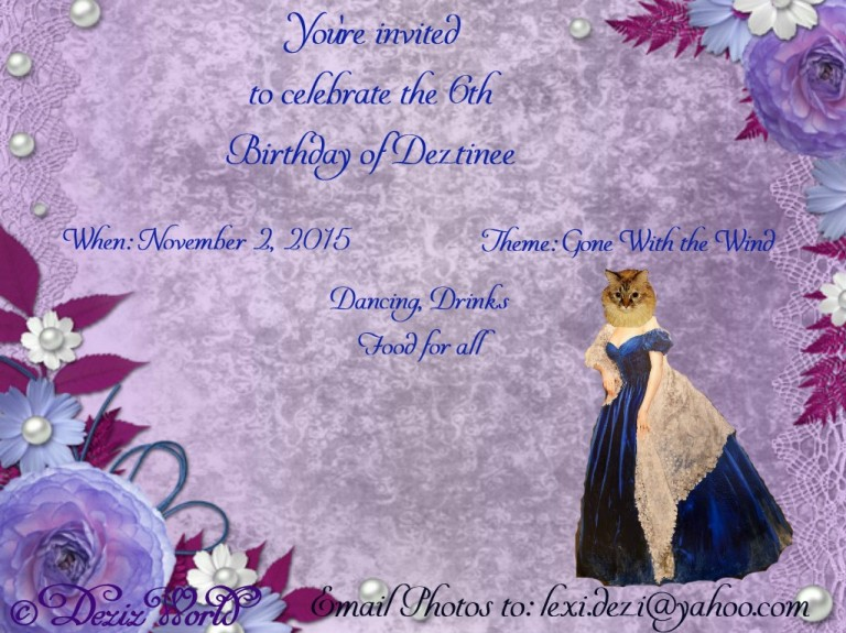dw-Dezi Birthday invite