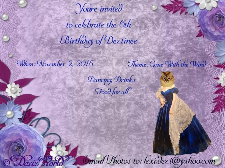 dw-Dezi Birthday invite