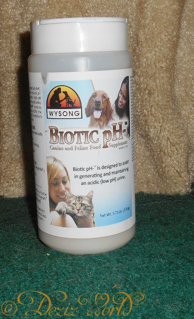 Wysong Biotic pH- for urinary pH in cats