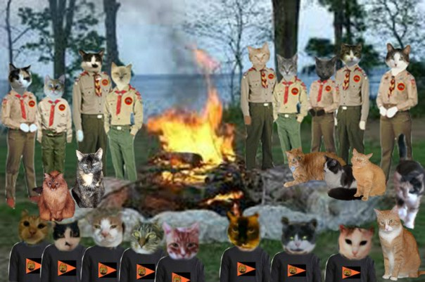 campfire-with-scouts-warriors
