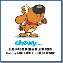 Chewy blog hop badge