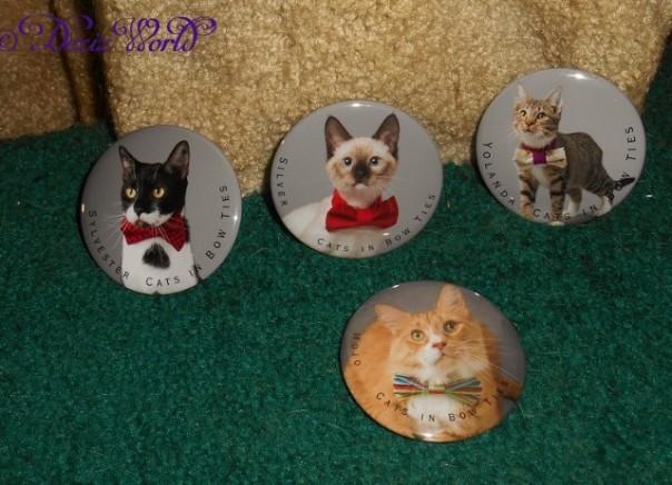 Catsinbowties.com Magnet set