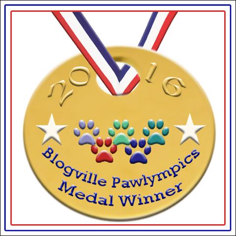 Blogville Pawlympics Badge full size
