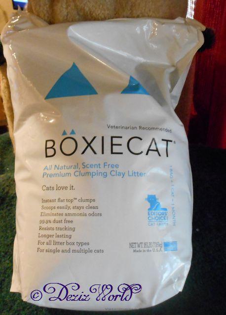 BoxieCat Clay Cat litter