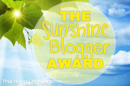 The Sunshine Blogger Award Badge
