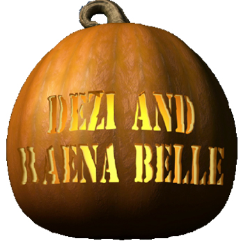 Dezi and RAenas' pumpkin patch pumpkin from Nellie