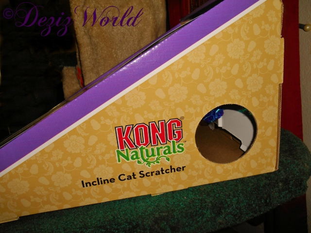 Kong Incl;ine Cat Scratcher