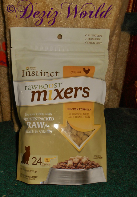Natures Variety Raw Boost Mixers Cat Food Toppers