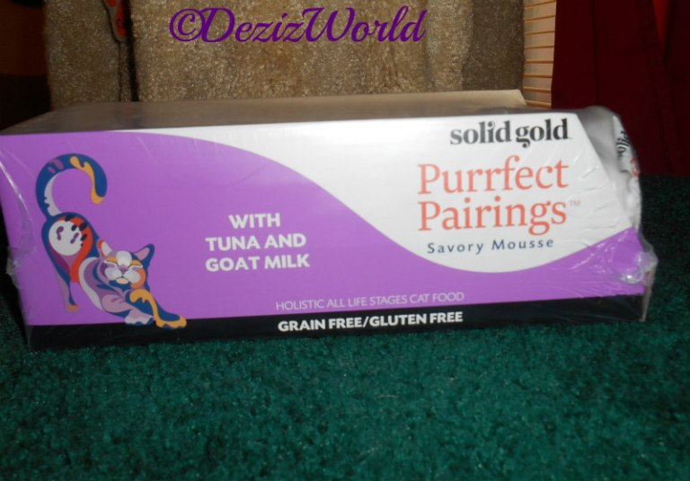 Case of 6 Solid Gold Purrfect Pairing Cat food.