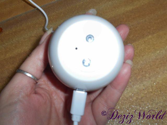 LumaSoothe charging