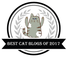 Best Cat Blogs of 2017 badge