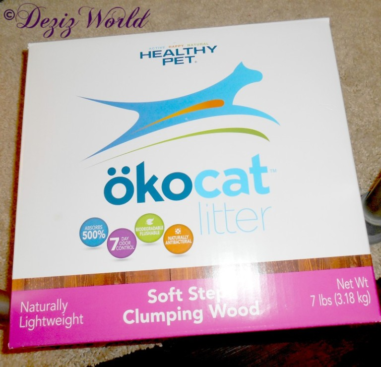Okocat cat litter