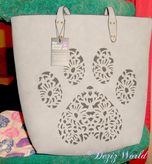 Paw Print purse gift from Vonda