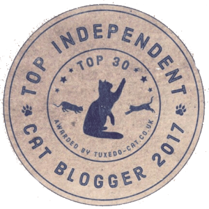 Top 30 Independant Cat Bloggers badge