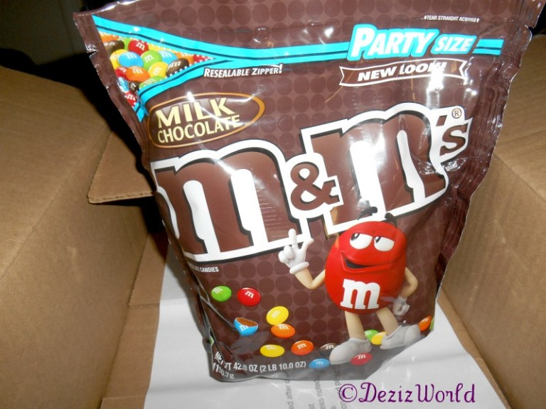Large bag of M & M's