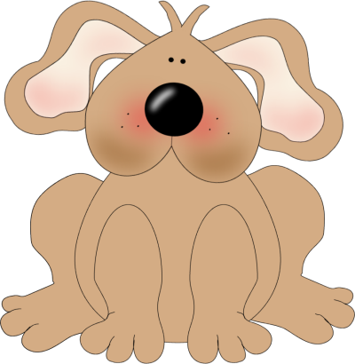 Brown Dog clip art