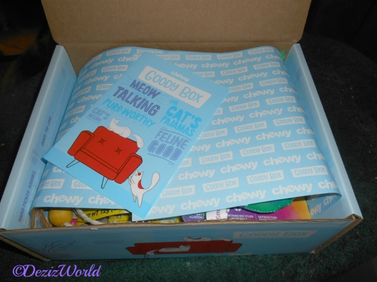 Chewy Goody Box