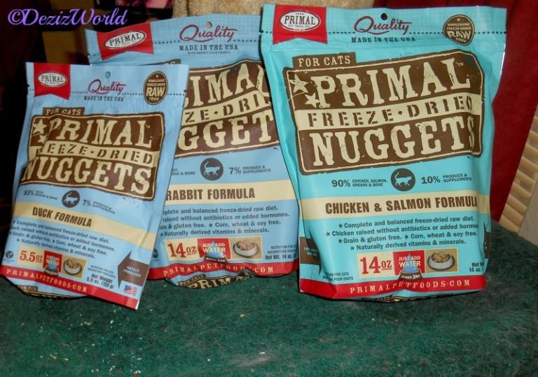 Gift of Primal Freeze Dried Chicken, Rabbit and Duck sent by Vonda