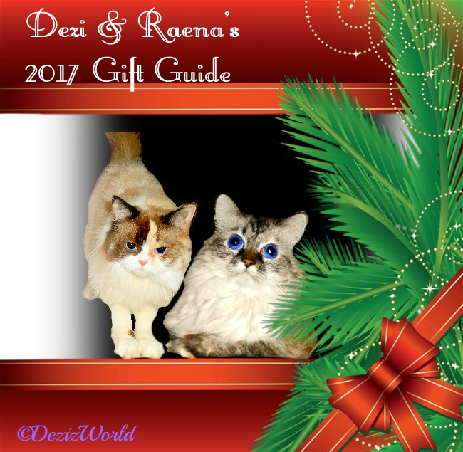 Dezi and Raena in Christmas frame