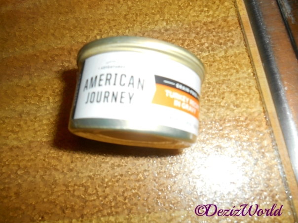 Can of American Journey Cat Food