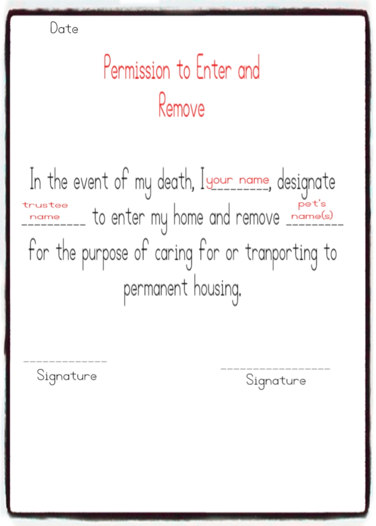 Example permission notice