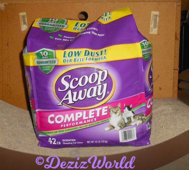 Scoop Away Complete Cat Litter