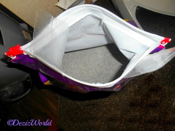 Open Bag of Scoop Away Complete Cat Litter