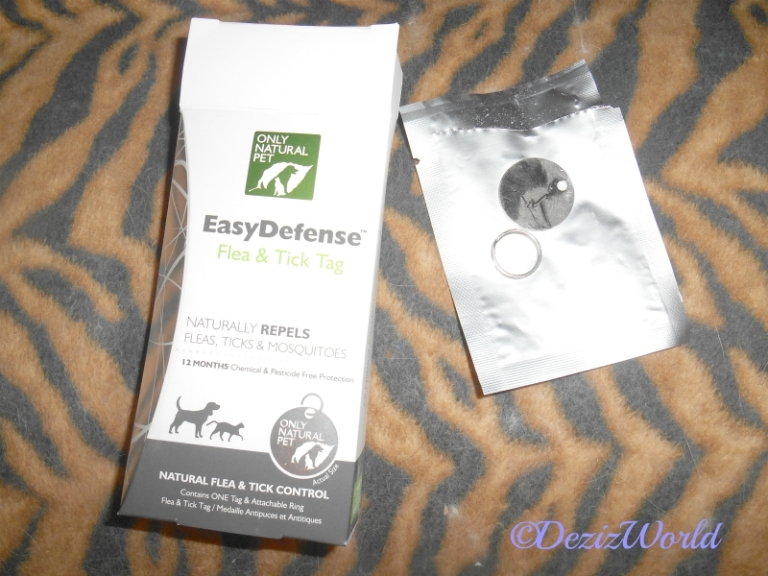 Only Natural Pet Easy Defense Flea Tag