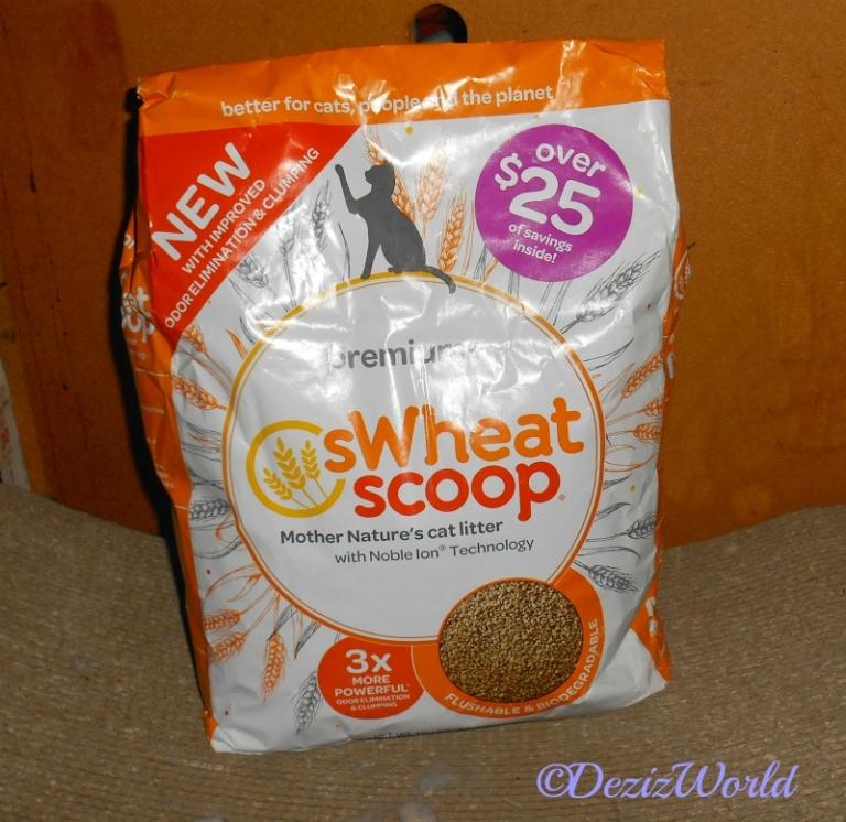 10lb bag of sWheatScoop cat litter