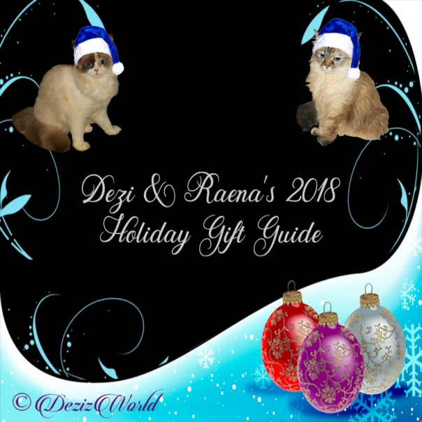 Dezi and Raena's 2018 Holiday Gift Guide graphic