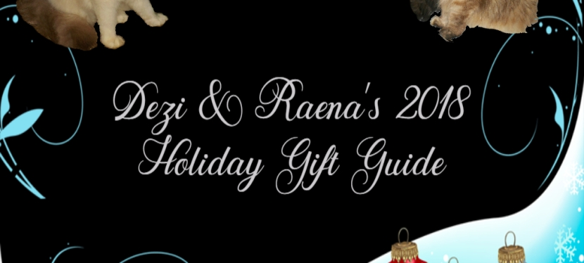 Chatting Cats: 2018 GiftGuide