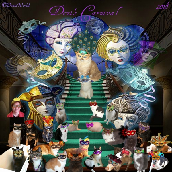 Dezi's 2018 Masquerade Ball memory photo