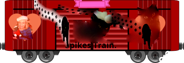 Spike and Christine boxcar