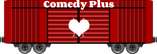 Comedy Plus boxcar