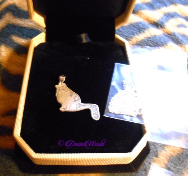 Sterling silver pendant of RaenaBelle