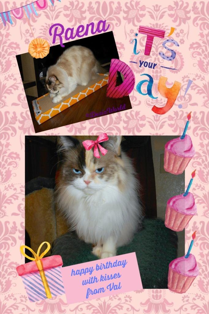 Birthday card from Valentine