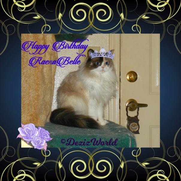 Raena birthday card