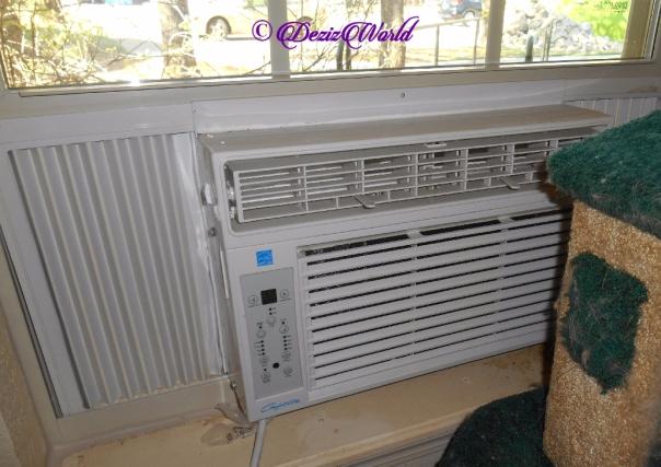 small window unit a/c fan